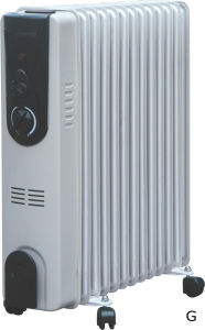 Electric Oil Filled Heater pictures & photos