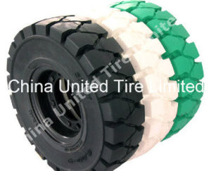 Forklift Solid Tire 4.00-8, 5.00-8, 6.00-9, 700-12, 815-15.