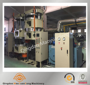 Column or Pillar Type Rubber Curing Press Machine/PLC Control Rubber Vulcanizing Machine pictures & photos
