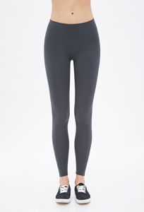 100% Cotton Leggings with Elasticized Waist Pants pictures & photos