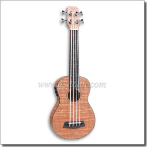 All Flamed Mahogany Plywood Ukulele Bass with EQ (AUB-52) pictures & photos