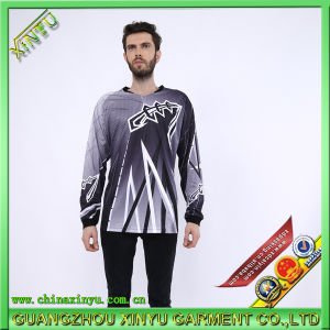 Sublimation Jersey Dry Fit T Shirts for Motorcycle Compitition pictures & photos