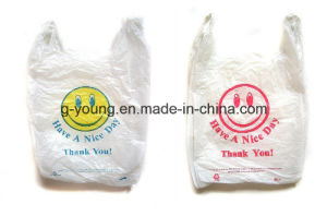 High Quality Plastic T-Shirt Bag pictures & photos