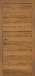 Fashion Design Wood Door, Entry Door Rustic Wood, Traditional Pine Wood Veneer Door pictures & photos