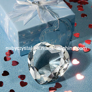 Wedding Favors Crystal Heart Diamond Paperweight pictures & photos