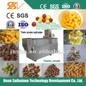 Puffing Snacks Food Extruder pictures & photos