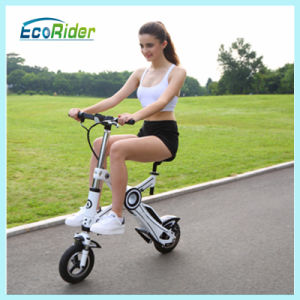 Ecorider Folding Mini Electric Push Bikes for Adults pictures & photos