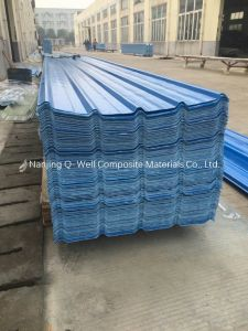 FRP Panel Corrugated Fiberglass Color Roofing Panels W172111 pictures & photos