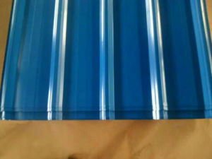 Steel Products Dx51d Metal Steel Corrugated Galvanized Steel Sheet pictures & photos