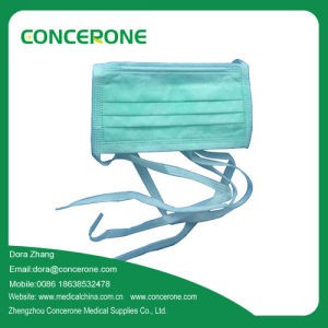Disposable Non Woven Face Mask with N95 Cetificate Tie on pictures & photos