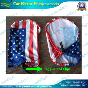 USA National Flag Car Mirror Cover (B-NF11F14012) pictures & photos