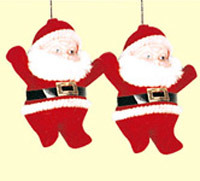 Plastic Christmas Ornament (A1101-3-2)
