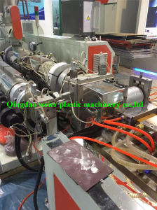 Wood Plastic WPC Decking Profile Co-Extrusion Machine pictures & photos
