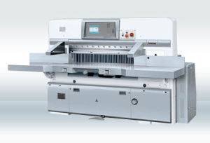 Touch Screen Double Worm Wheel Double Guide Paper Cutting Machine (guillotine)