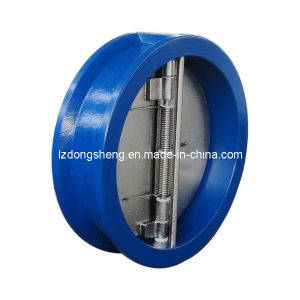 ANSI Class 300 Dual Disc Wafer Type Check Valve pictures & photos