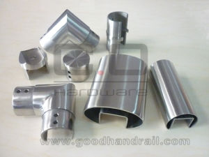 Stainless Steel Welded Slotted Pipe Handrail Fittings pictures & photos