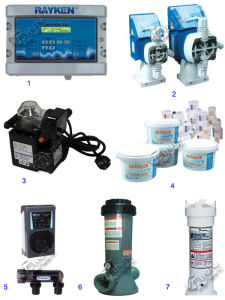 Factory Good Quality Swim Pool Sand Fiter Electric Water Pump pictures & photos