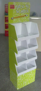 Pop Cardboard Displays with Gloos Lamination for Stationery Products pictures & photos