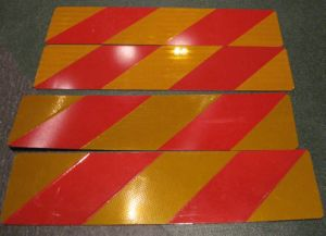 ECE 70 Vehicle Rear Marking Boards