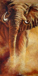 Oil Painting Animal (A019)