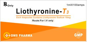 Liothyronine Sodium Human Medicine for Injection 10mg/Ml pictures & photos
