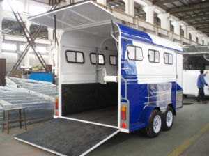 3 Horse Trailer 3 Horse Angle Load Australia Standard pictures & photos