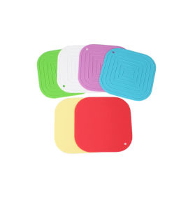 Colorful Promotional Silicone Coaster