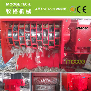 Single Shaft Waste Plastic Recycling Shredder Machine pictures & photos