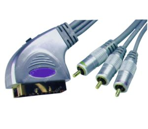 Professional Cheapest EXW Standard Assemblied Scart Cable pictures & photos