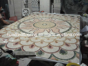 Stone Carpet Marble Mosaic Pattern Tile (STP83) pictures & photos