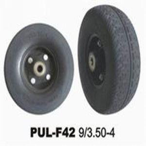 9 * 3.5-4 PU Foamed Wheelbarrow Tyre pictures & photos