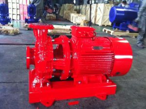 Horizontal Pipeline Centrifugal Pump with Ce Certificate pictures & photos