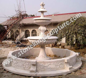 Hand Carved Stone Fountain of Marble Carving (sk-2441) pictures & photos