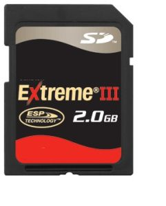 2GB Extreme III Secure Digital SD Card
