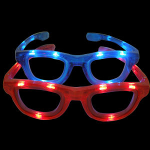 Christmas Party LED Flashing Fashion Sunglasses (QY-LS015) pictures & photos