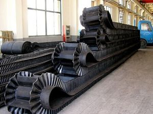High-Efficiency New Corrugated Sidewall Conveyor Belt pictures & photos