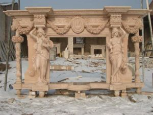 Marble Fireplace- MSDF-008 pictures & photos
