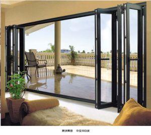 Aluminum Bi-Fold Doors (pH-6611) pictures & photos