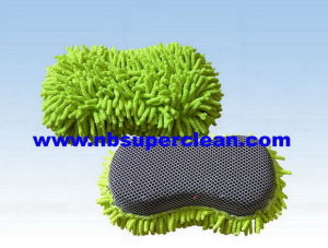 2 in 1 Car Cleaning Microfiber Wash Pad (CN1451) pictures & photos