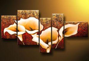 Flower Oil Painting (FD030214)