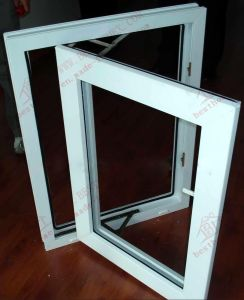 PVC Single Casement Window (BHP-CW02) pictures & photos