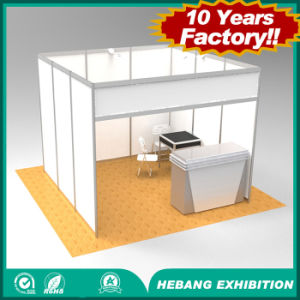 3X3 Aluminum Extrusion Standard Modular Shell Scheme Trade Show Exhibition Booth for Sale pictures & photos