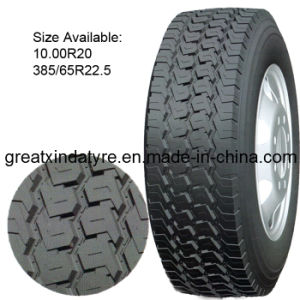 Truck Tires and Trailer Tire (10.00R20 315/80R22.5 385/65R22.5) pictures & photos