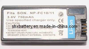 Rechargeable Digital Camera Battery for Sony NP-FC10.11