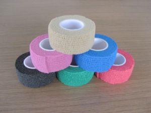 2016 Popular Colorful Cohesive Bandage Elastic Bandage Wrap Bandage pictures & photos
