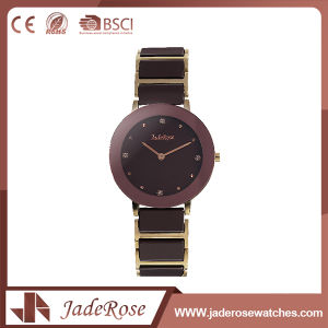 Fashion Large Dial Stainless Steel Quartz Wrist Watch pictures & photos
