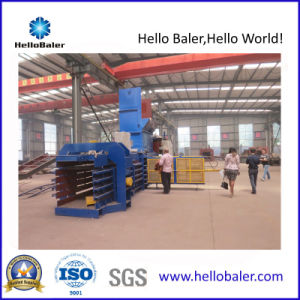 Horizontal Cardboard Baling Press Machine with PLC pictures & photos