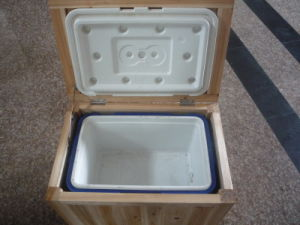Wooden Cooler Box, Ice Box, 50L, Cooler Box with Wood pictures & photos