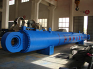 Hydraulic Cylinder for Pile Driving Barge