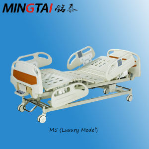 Five Functions ICU Electric Hospital Bed, Medical Equipment pictures & photos